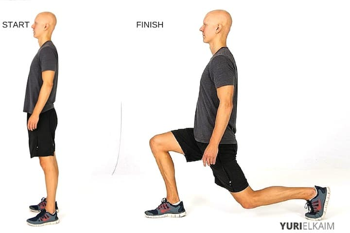 Best Fat Burning Leg Exercises - Forward-Backward Lunges