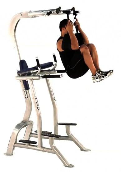 Dangerous Abdominal Exercise Machines - Hanging Knee Raises