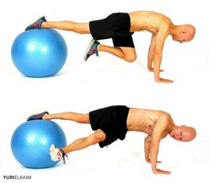 Stability Ball Grasshopper Sequence