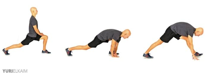 2-Step Hamstring Stretch