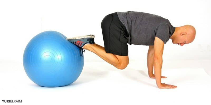 Do This Instead of Sit-Ups - Stability Ball Knee Tucks
