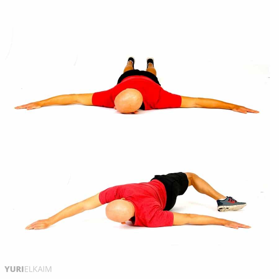 Dynamic Warm-up Exercises - Scorpion