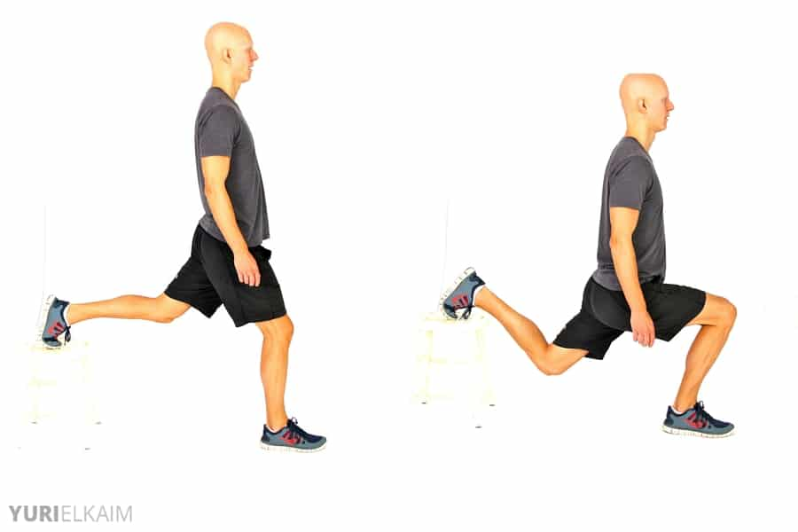 8 No-Equipment Bodyweight Exercises - Bulgarian Lunges