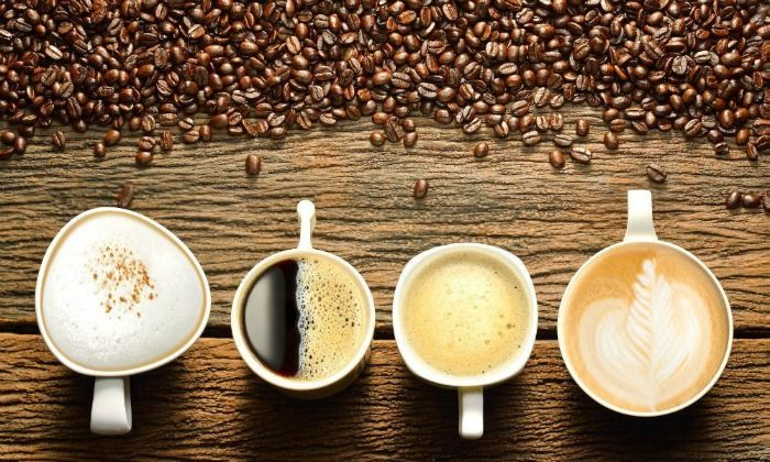 Various kinds of coffee