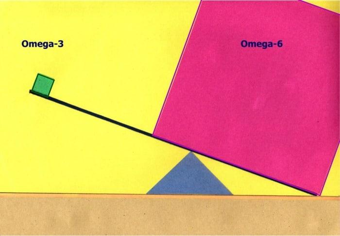 Omega 3 to Omega 6 ratio