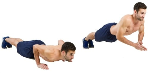 Advanced Push-up Variations - Clap Push-ups