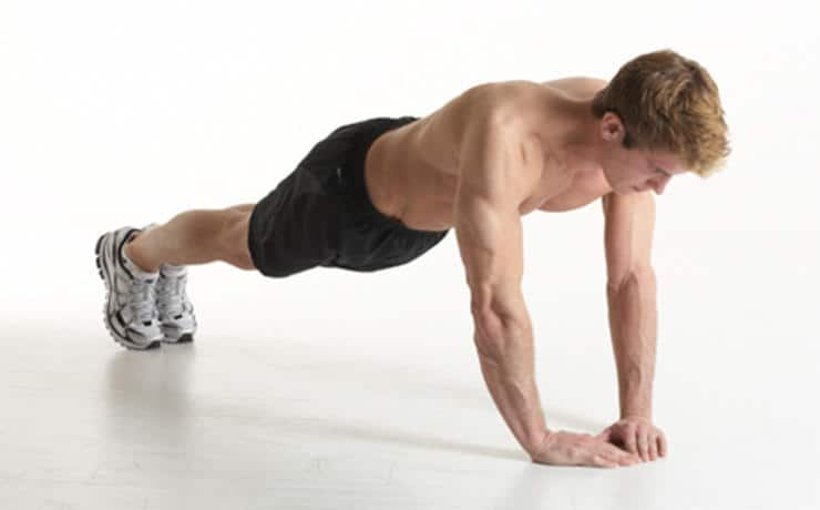 Advanced Push-up Variations - Diamond Push-up