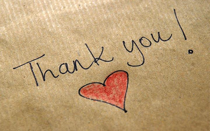 Life Lesson - Gratitude Key to Happiness