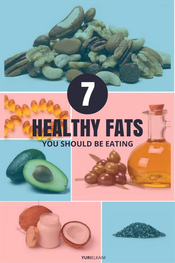 7 Examples of Healthy Fats You Want to Be Eating