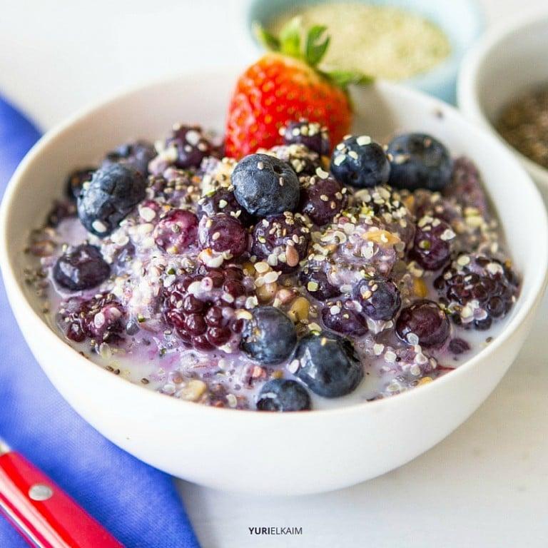 Healthy Breakfast: Fiber Starter Cereal Bowl