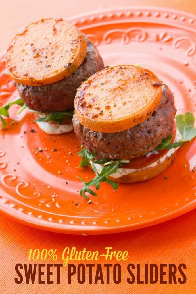 Bunless Burger: Sweet Potato Sliders