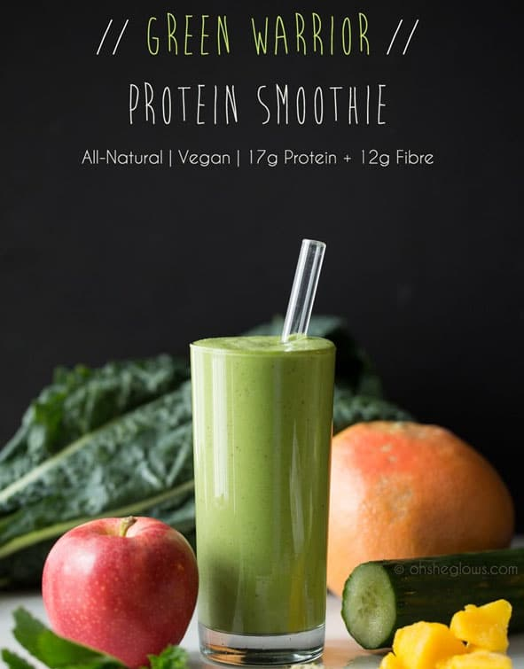 Post-Workout Smoothie - Hi-Protein Vegan Smoothie