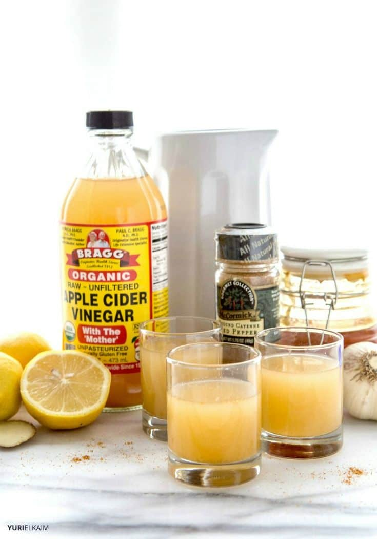Nature's Flu Shot Recipe Made with ACV