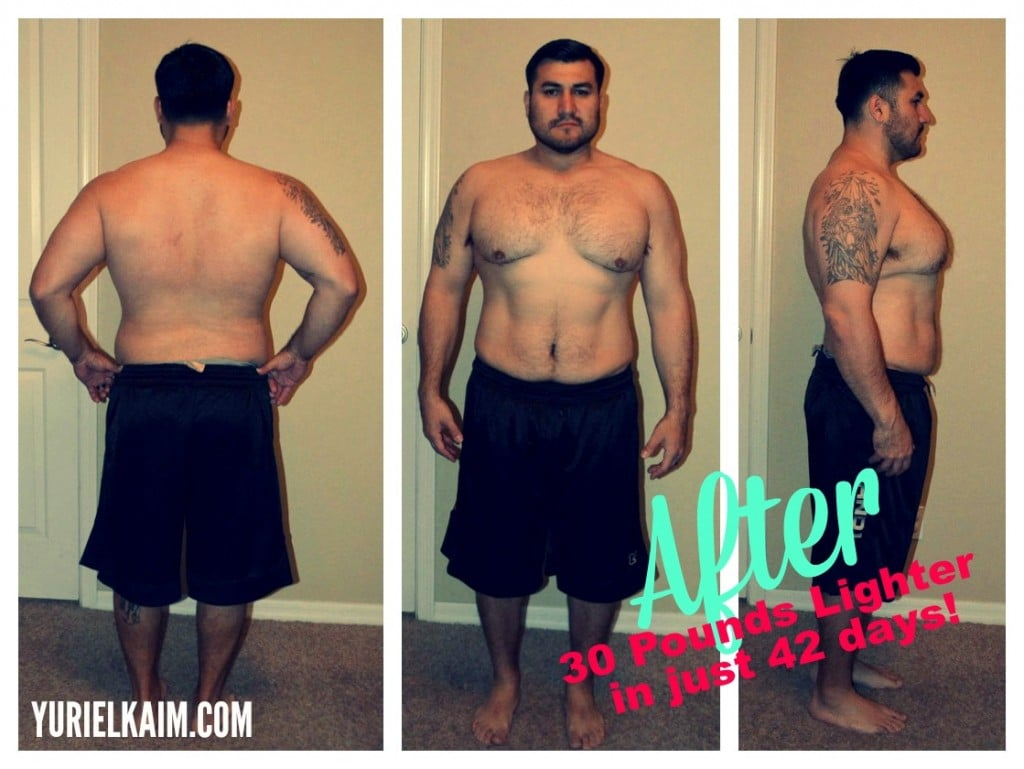He Lost 30 Pounds in Just 42 Days!