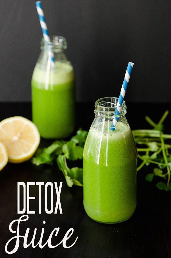 Detox Juice via So Let's Hang Out