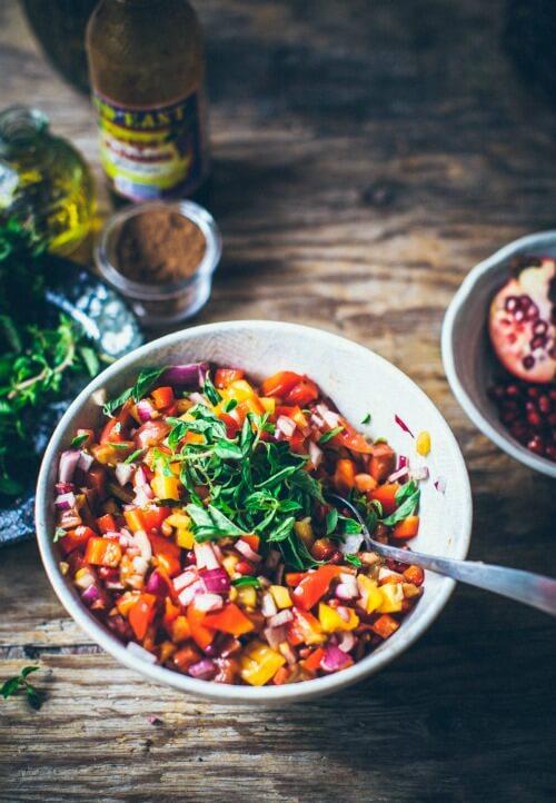 Plenty More Pomegranate Salad