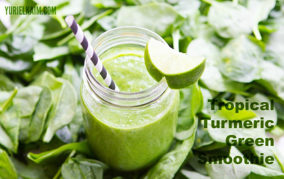 Turmeric is a powerful anti-inflammatory! This TROPICAL TURMERIC Smoothie makes it easy to enjoy!
