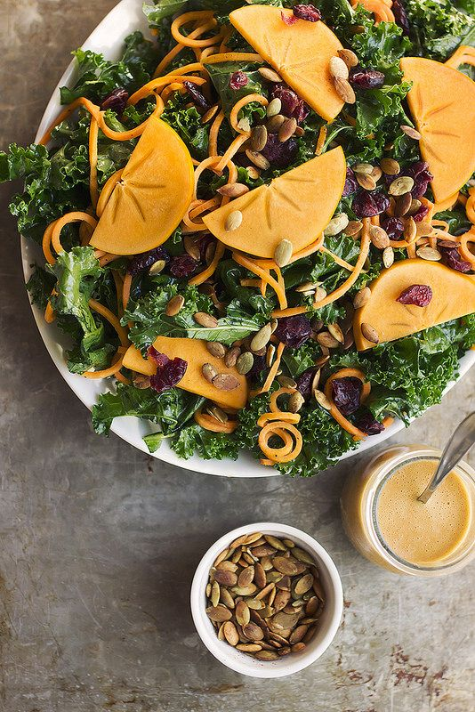 massaged-kale-salad-with-sweet-potato-noodles-and-smoky-orange-vinaigrette-via-tasty-yummies