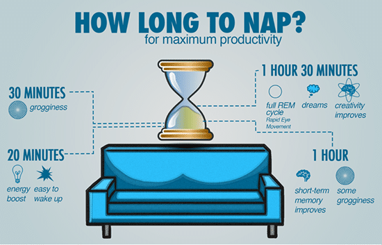How to Take a Perfect Power Nap