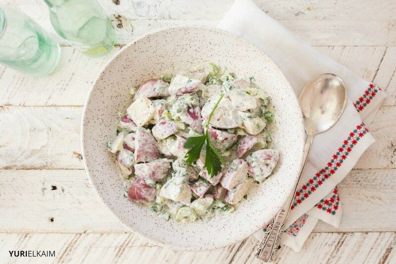 No-Mayonnaise-Potato-Salad
