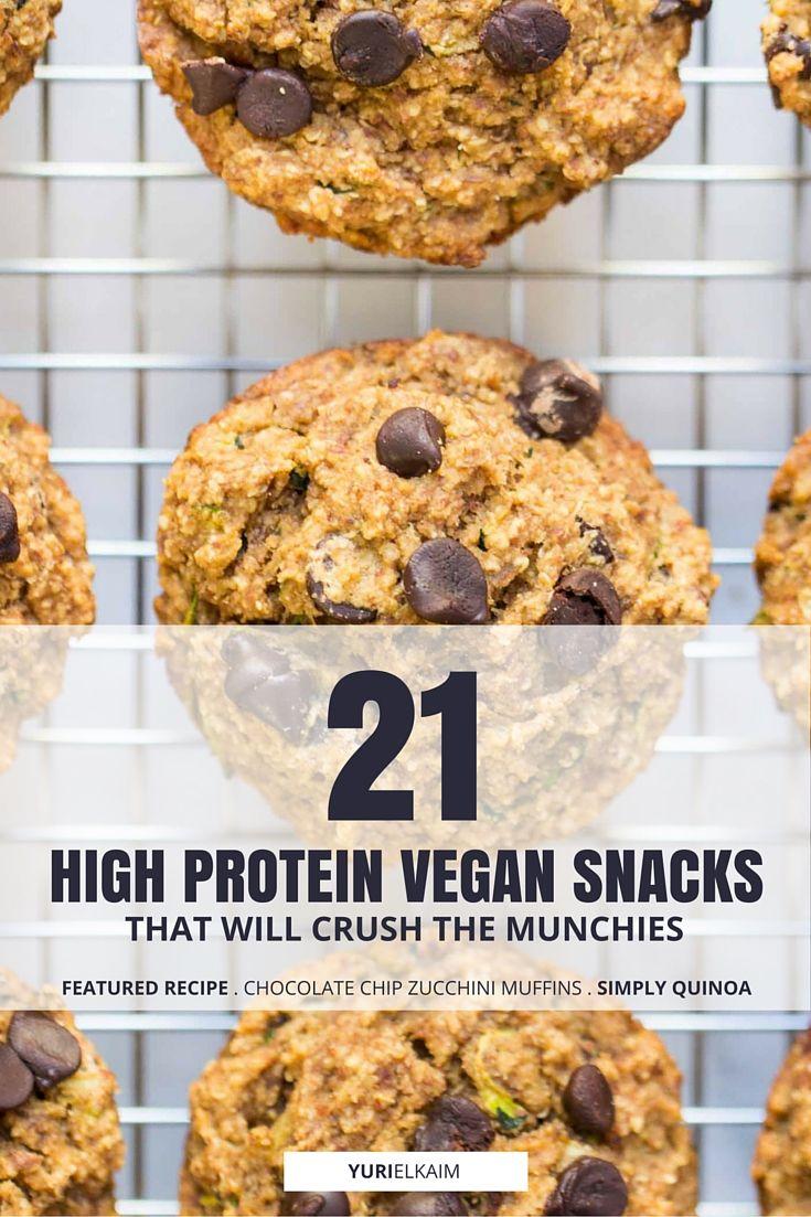21 High Protein Vegan Snacks That Will Crush the Munchies