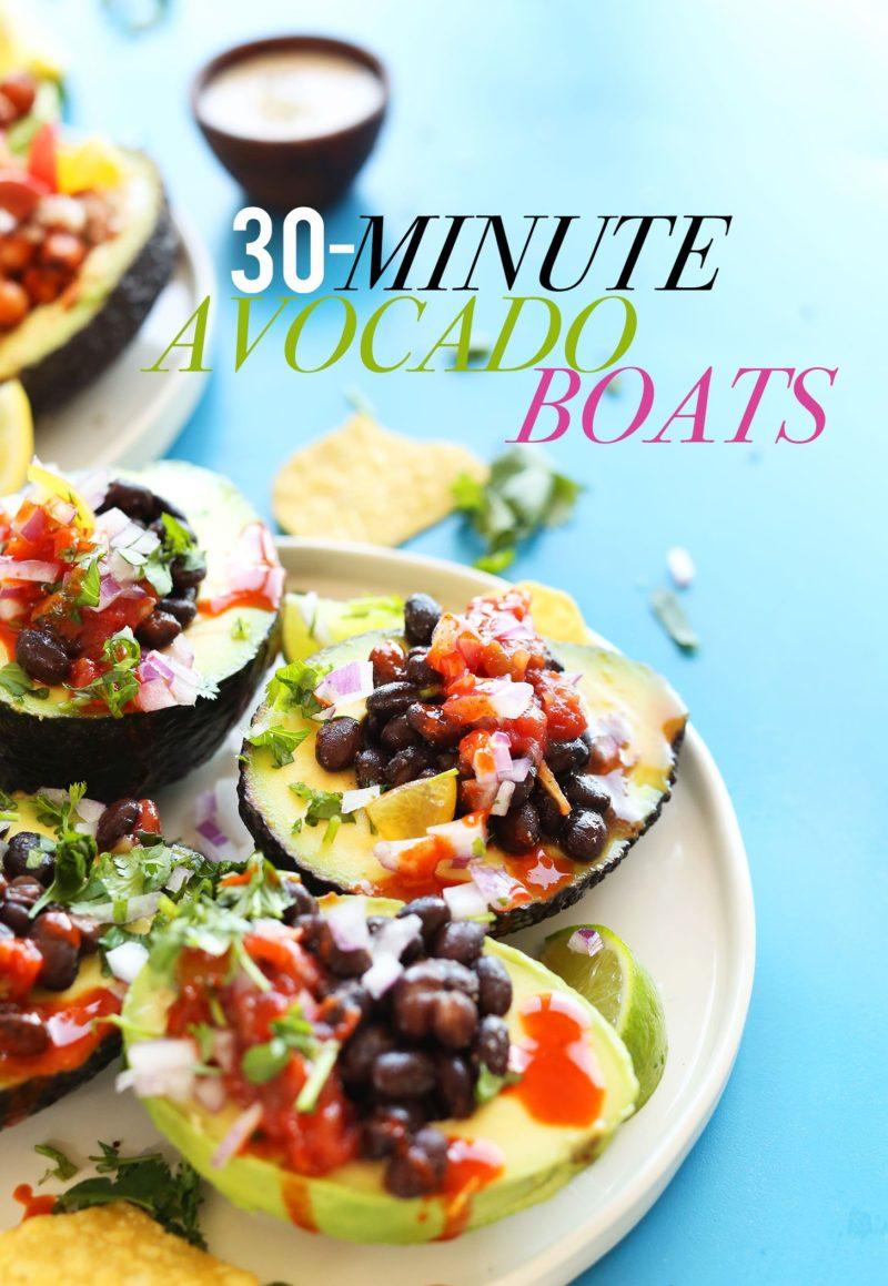 Avocado Boats via Minimalist Baker
