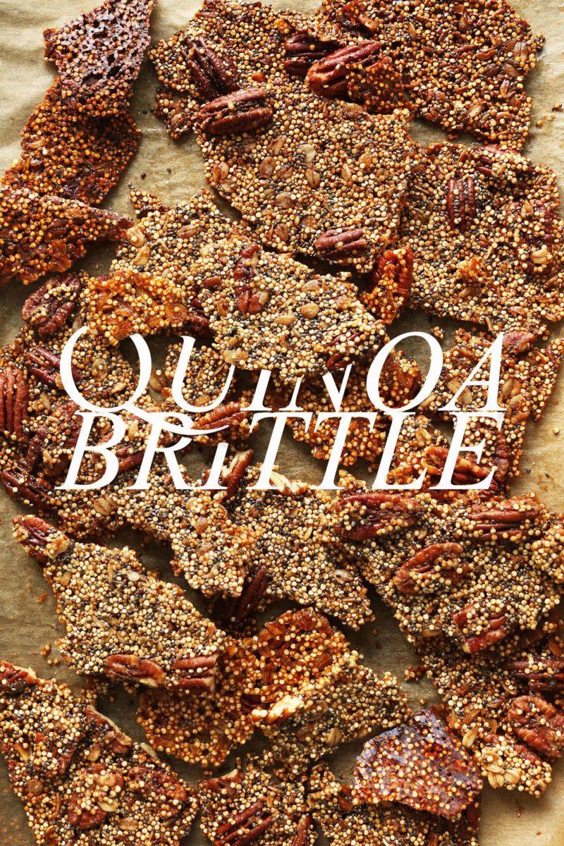 Quinoa Brittle via Minimalist Baker