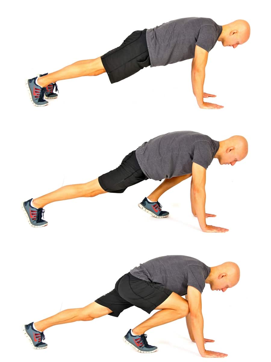 10 Best Bodyweight Exercises - Mountain Climbers