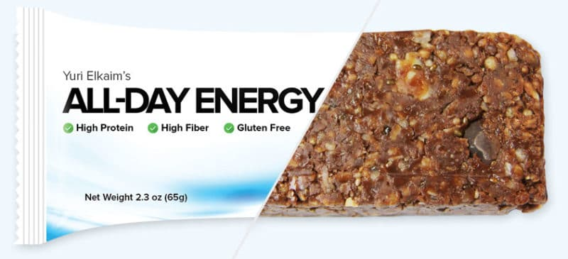 healthy energy bar alternative