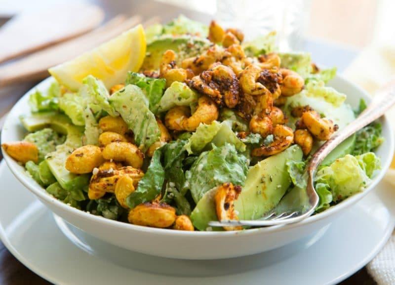 Avocado Chipotle Cashew Salad