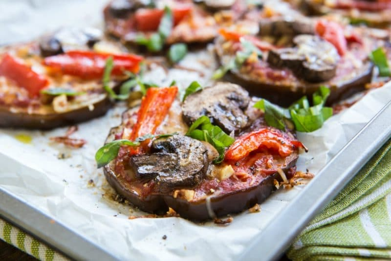 Eggplant Paleo Pizza