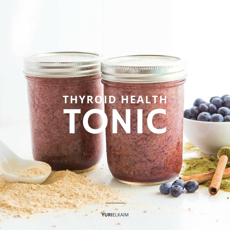Thyroid Home Remedy Tonic