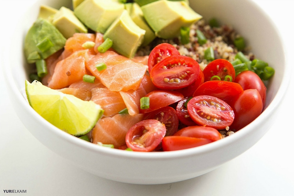 5-Minute Sesame Lime Quinoa Sushi Bowl (with 5 Recipe Combos)