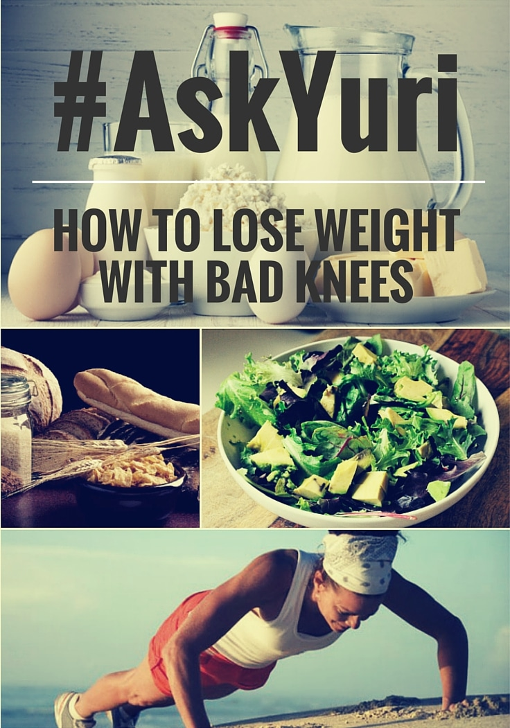 How to Lose Weight with Bad Knees