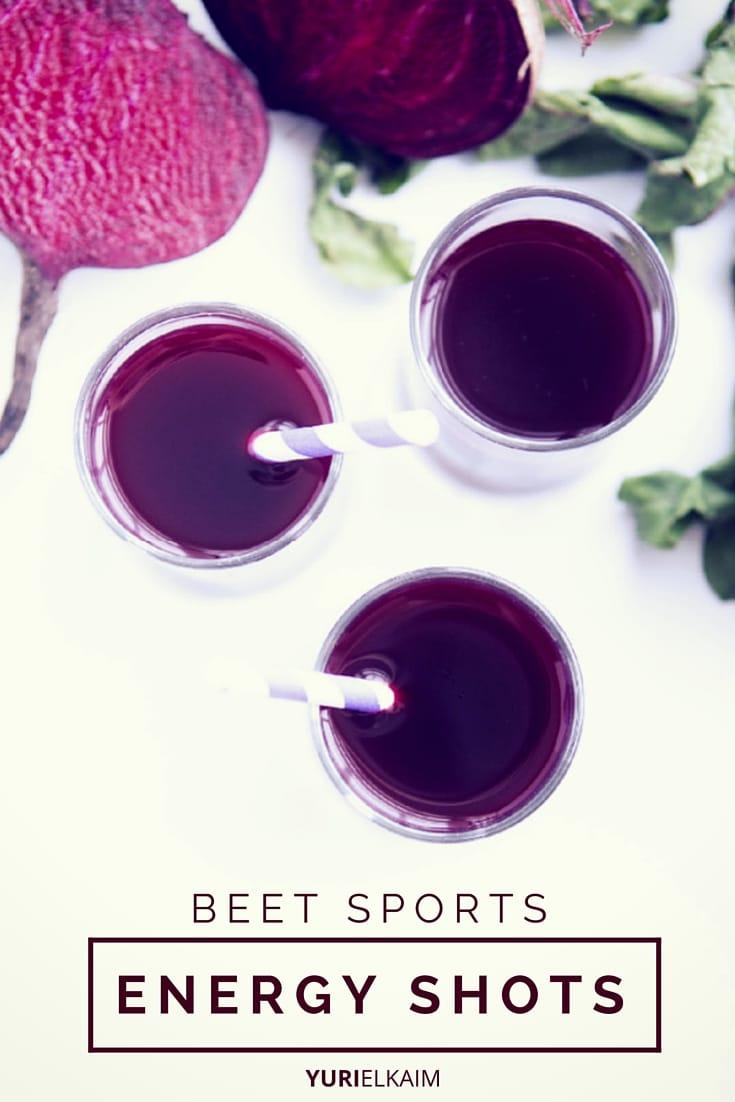 Natural Energy Drink - Beet Shots