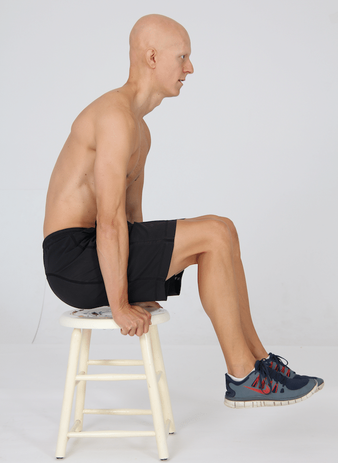 15 Best Bodyweight Exercises - Chair Hold