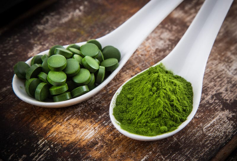 15 Fat Burning Foods - Chlorella