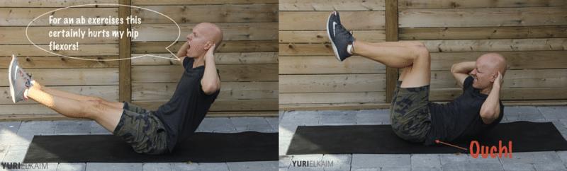 10 Worst Ab Exercises - V-Sits