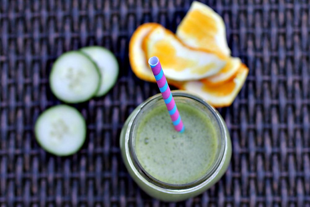 11 Green Smoothie Recipes - Citrus Refresher