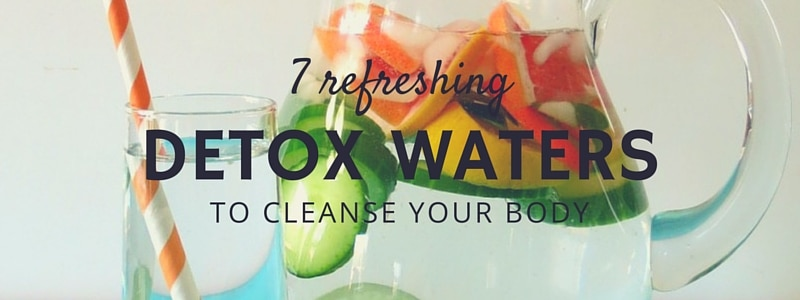 7 Detox Waters to Cleanse Your Body and Burn Fat
