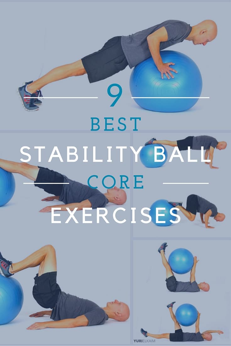 Best Stability Ball Core Exercises