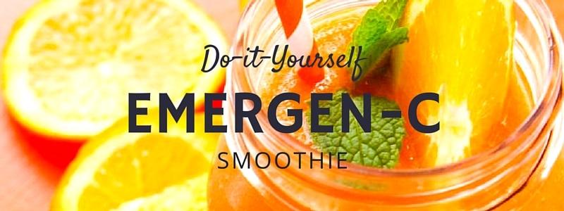 DIY Emergen-C Smoothie