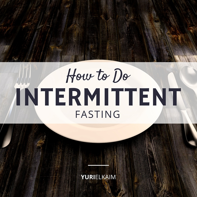 How to Do Intermittent Fasting