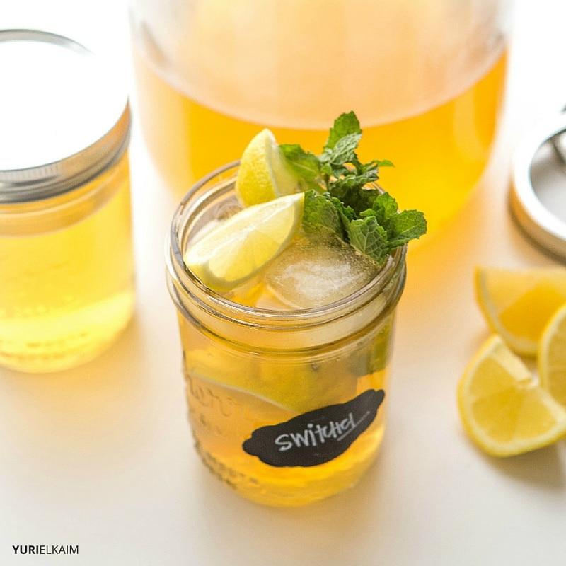 Maple Ginger Switchel - Apple Cider Vinegar Detox Drink