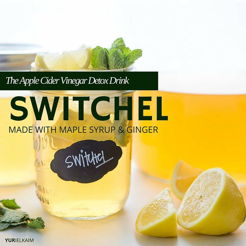Switchel - The Apple Cider Vinegar Detox Drink