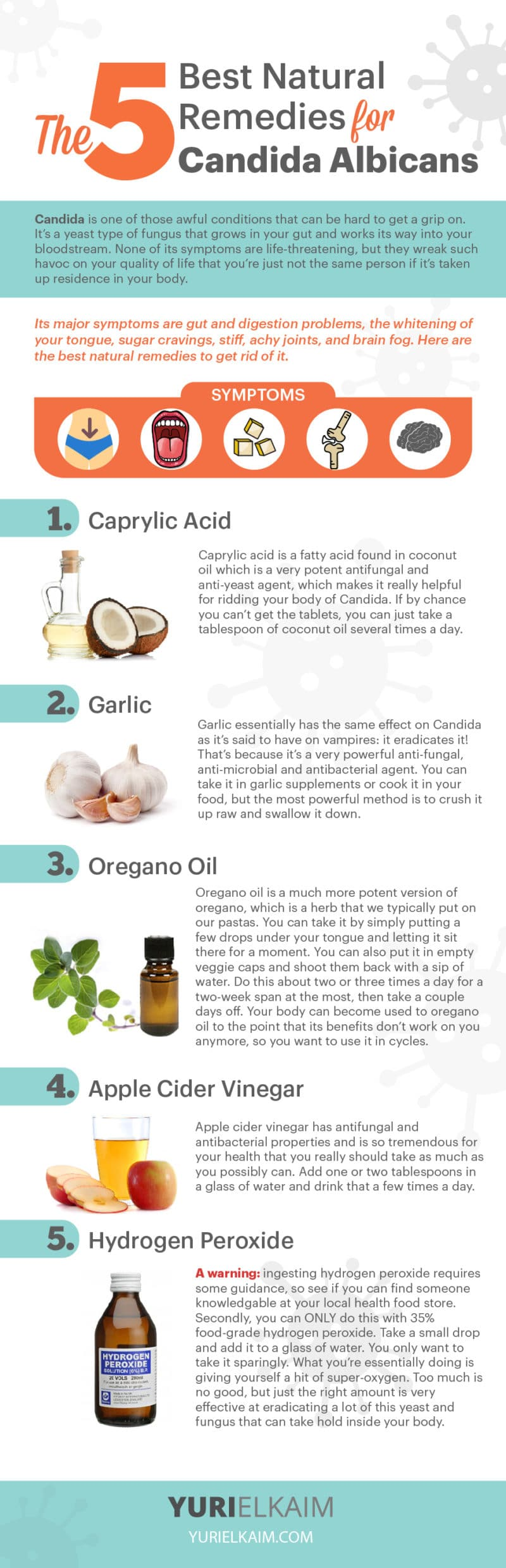 The 5 Best Natural Remedies for Candida Albicans