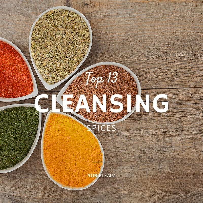 Top 13 Cleansing Spices to Add Into Your Diet