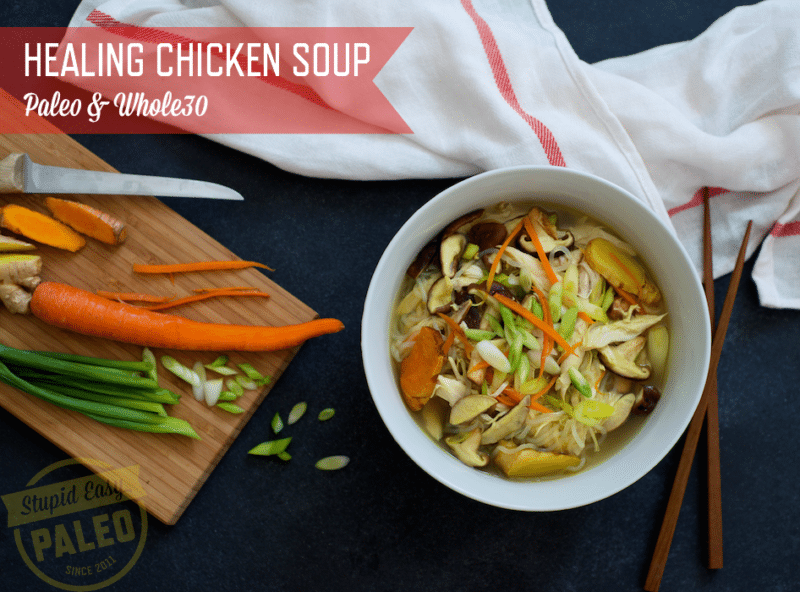 Natural Cold Remedy - Chicken Soup