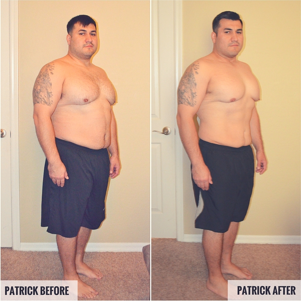 Patrick Before and After Photos