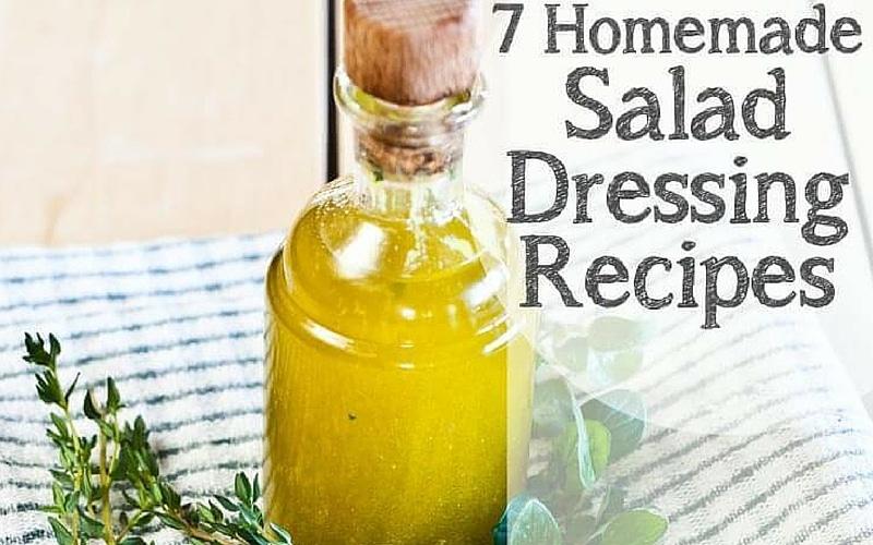 Seven Salad Dressing Recipes